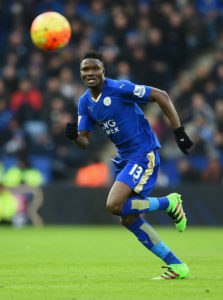 Daniel Amartey plays substitute role in Leicester City 2-0 win over Stoke City