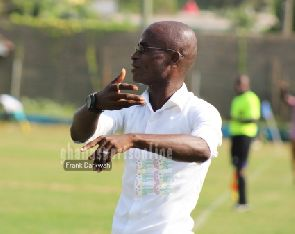 Liberty coach Ignatius Osei Fosu believes they were unlucky against Hearts