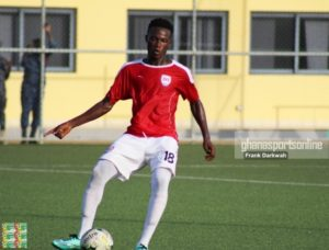 Inter Allies sweat over Wahab Akwei's fitness