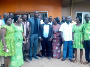 Officials of PFAG and SIC visits accident struck Kotoko