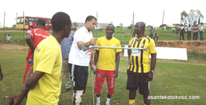 I will not be on the bench for the Hearts game- Kotoko Coach Steve Pollack