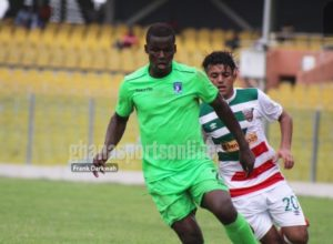 Bechem United striker Ahmed Toure insists Hearts match was a training game