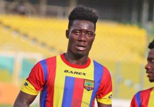Hearts midfielder Winful Cobinnah confident ahead of Kotoko clash