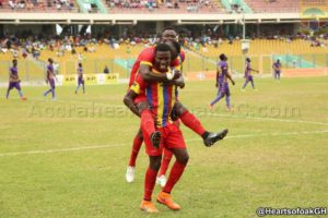 MATCH REPORT: Hearts draw in six goal thriller with Aduana