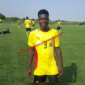 Ibrahim Sulley rejoins Black Starlets camp after Bayern Munich trials