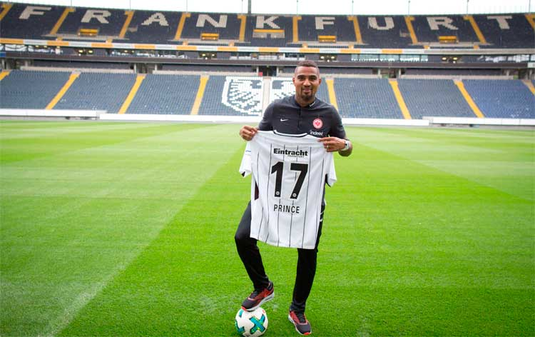 VIDEO:Kevin-Prince Boateng talks about his decision to join German side Eintracht Frankfurt