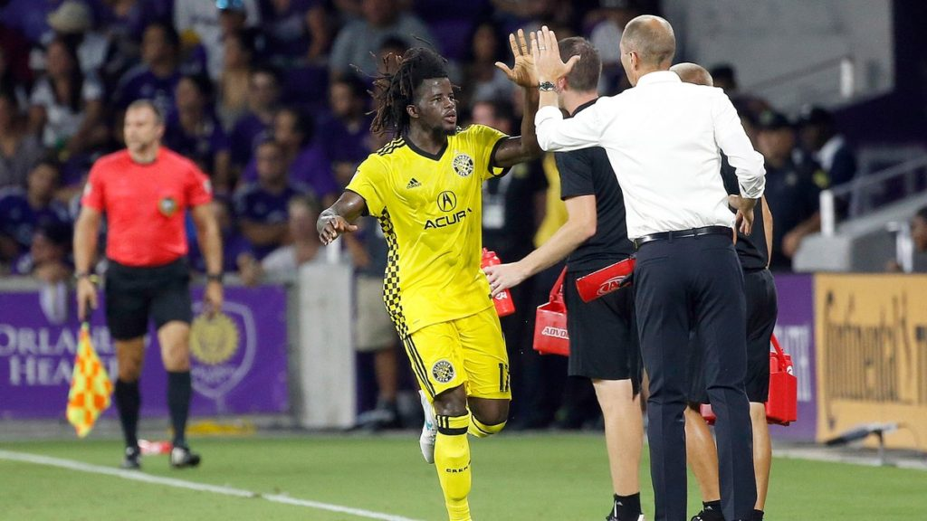 Ghanaian youngster Lalas Abubakar happy to score his first MLS goal for Columbus Crew