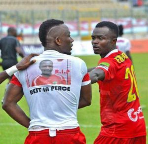 Kotoko striker Saddick Adams dedicates goal to late equipment officer
