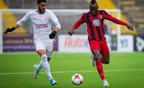 Ghanaian player Sam Mensah savours Osterunds progress in the UEFA Europe League