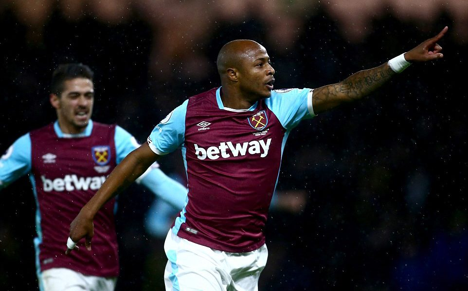 Andre Ayew dedicates first league goal to junior brother
