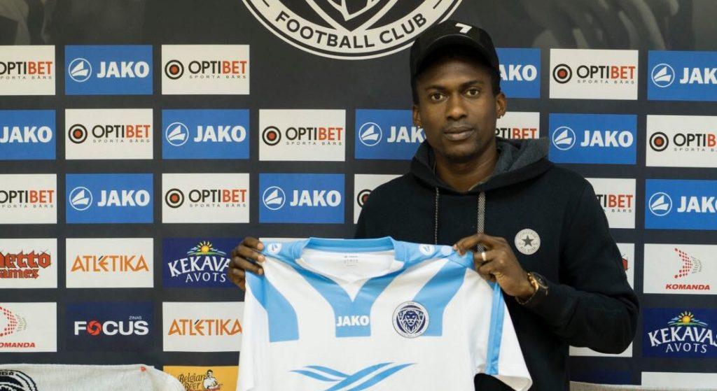 Ex Ghana U20 World Cup winner David Addy joins Latvian club Riga FC