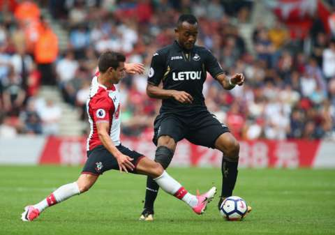 Jordan Ayew likely to miss Swansea City-Newcastle United clash