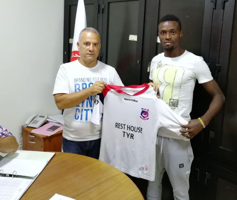 Former All Stars midfielder Kofi Yeboah joins Lebanese side Tadamon Sour on a free transfer